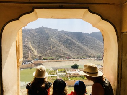 view from Amber Fort