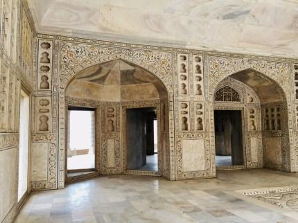 Agra inlaid stones