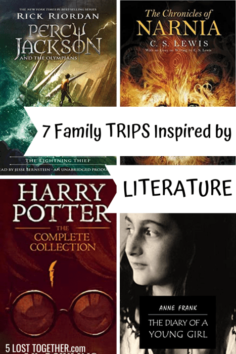 Family trips based on literature