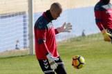 Primera sesión de entrenamiento de Rubén Miño en el Alba/Hugo Piña