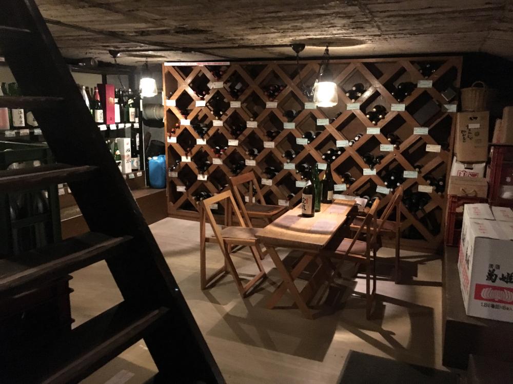 Shimata shoten basement