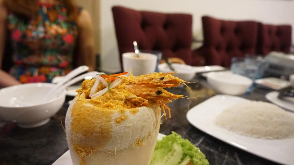 Coconut Seafood Otah