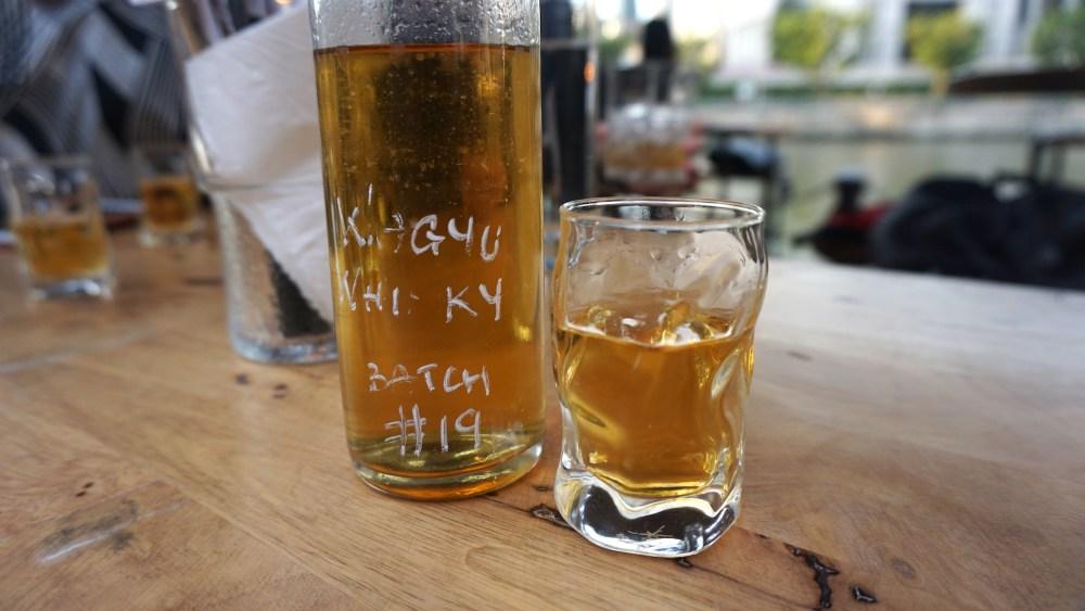 1 Wagyu Whisky