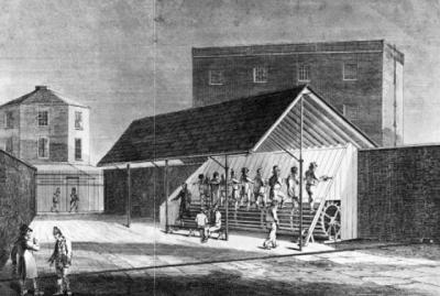 treadmills originated in prison