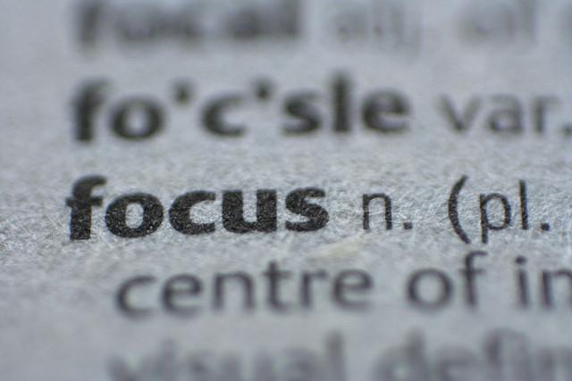 improve your focus