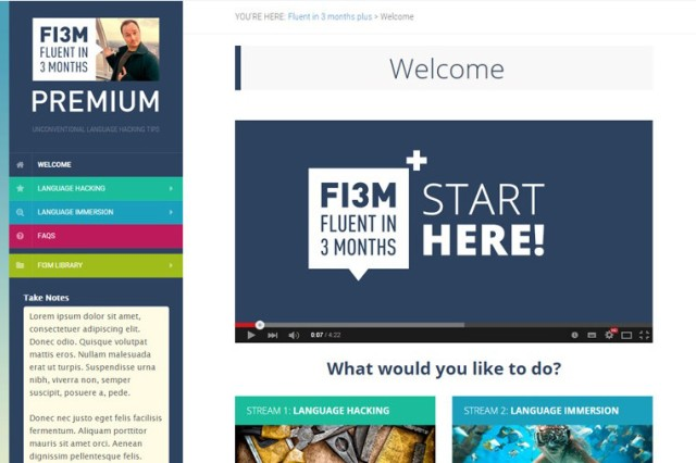 Fluent in 3 Months Premium review