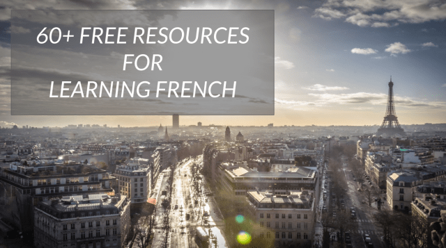 Free resources for learning French