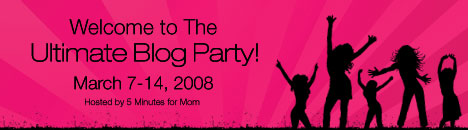 The Ultimate Blog Party at 5 Minutes for Mom