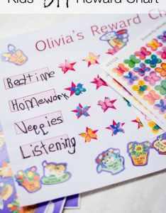 Kids diy reward chart also rewards rh minutesformom