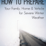 How To Prepare For Severe Winter Weather Lsss Emergencykits