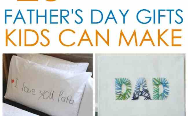 20 Father S Day Gifts Kids Can Make
