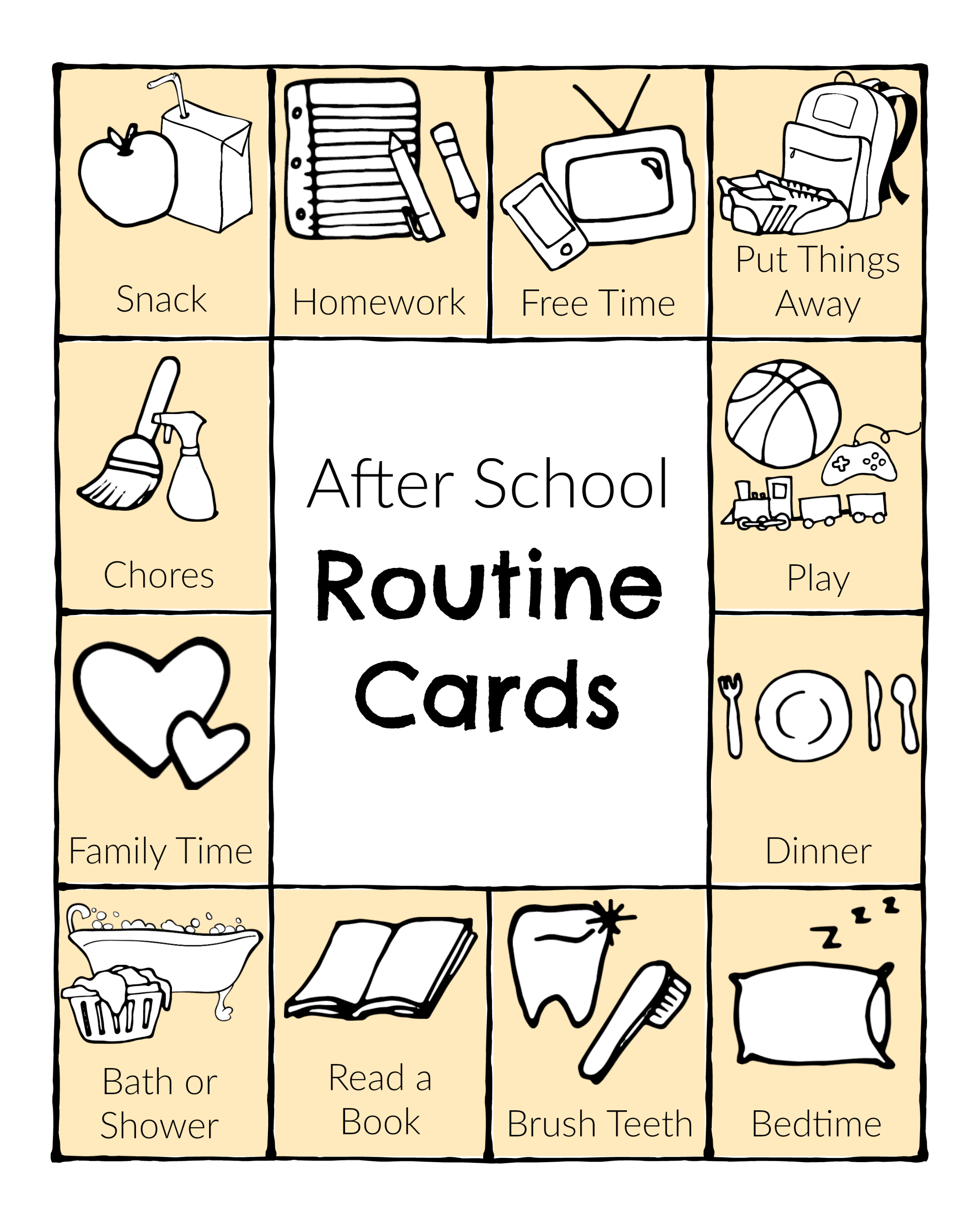 Setting Up A Fun After School Routine
