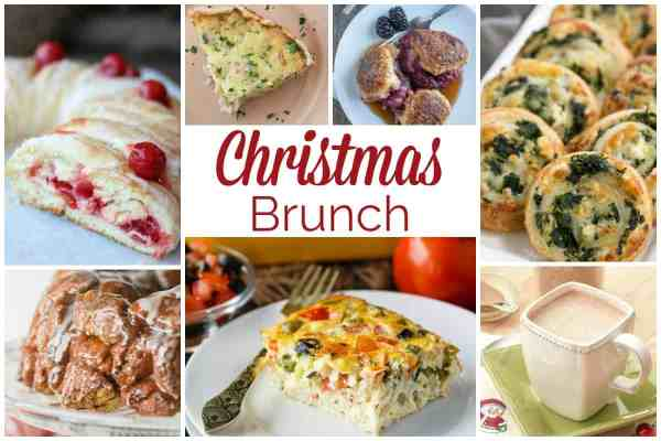Christmas Brunch Recipes and our Delicious Dishes Recipe Party
