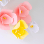 Diy Wall Decor The Easiest Diy Paper Flowers 5 Minutes