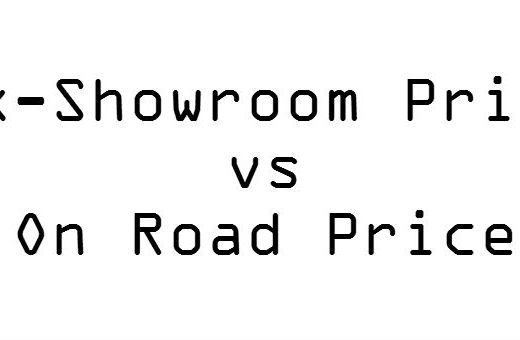 Ex showroom vs on road price