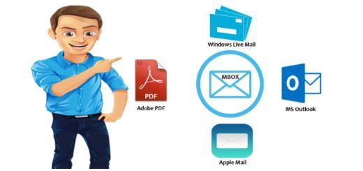 MBOX Flie Converter Software