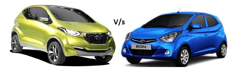 Hyundai Eon vs. Datsun Redi-Go