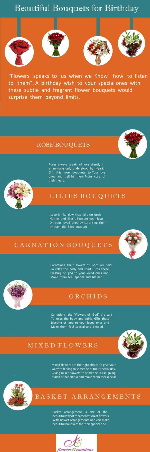 Flowers N Emotions Infographic