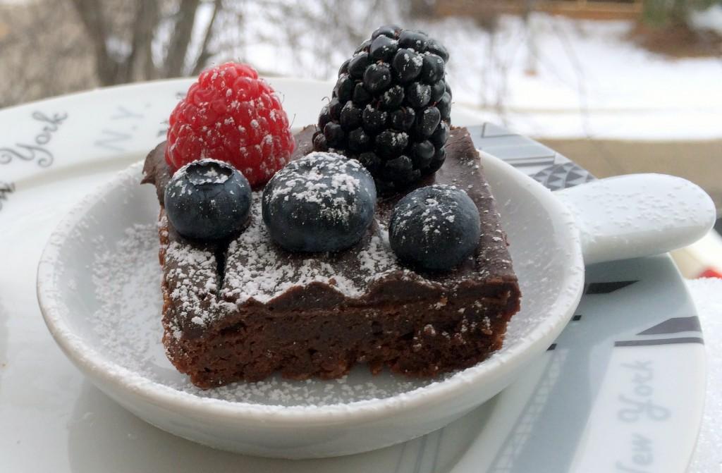 -Chocolate Raspberry Cake
