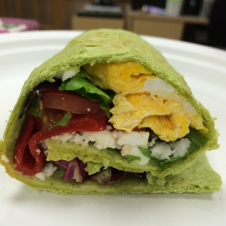 5 Star GreenVeggie Wrap