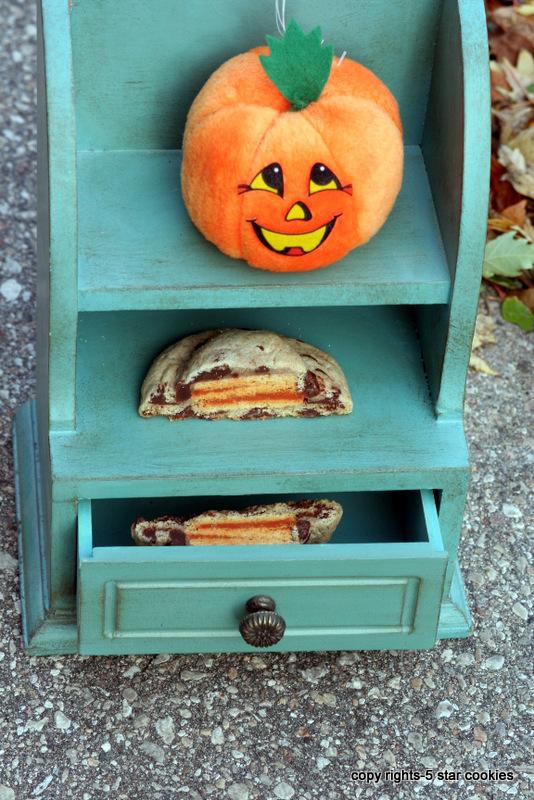 5 star cookies pumpkin