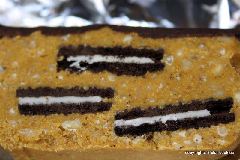 5 star cookies - tennis quick bread