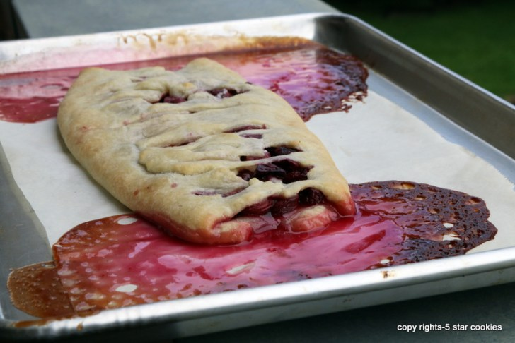 5 star Cherry Strudel crime scene