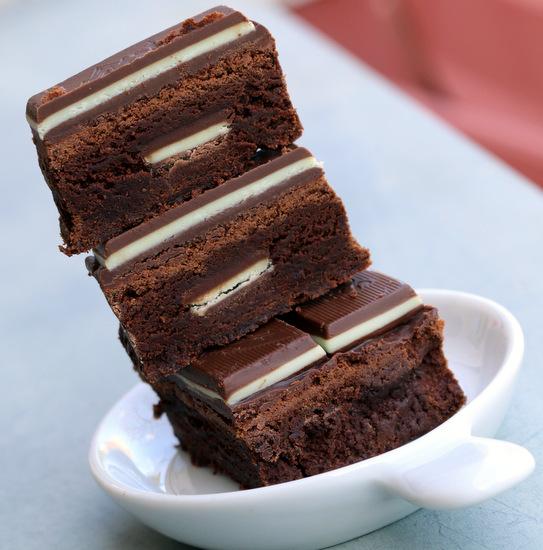 5starcookies-Mint Brownies