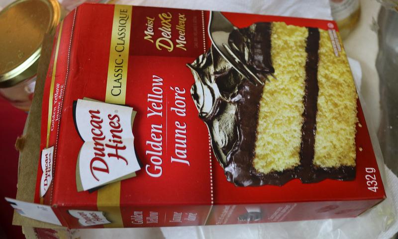 pumpkin pie cake 5 star cookies - Yellow Cake Mix