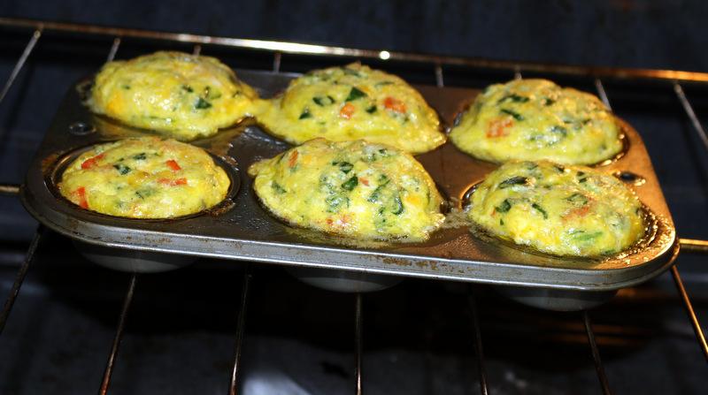 breakfast protein bites of 5starcookies in oven