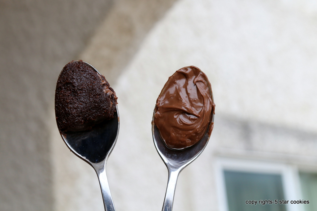 Vegan Nutella Homemade from 5starcookies food blog-Real Nutella and Homemade Version Nutella