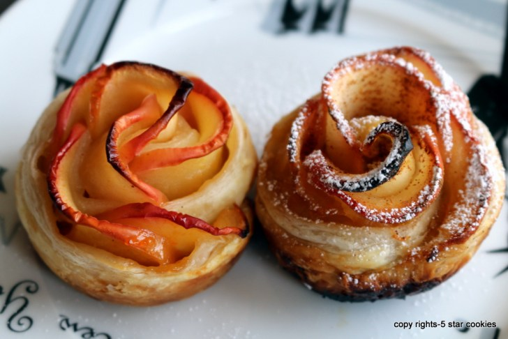 apple roses from the best food blog 5starcookies and cookie -your baked apple roses