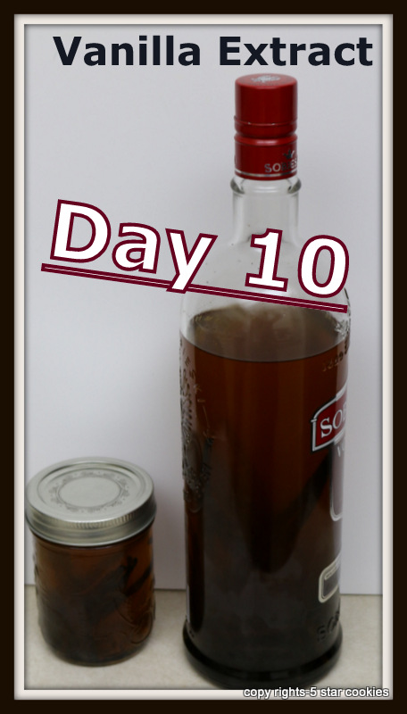 vanilla extract from the best food blog 5starcookies - update day 10