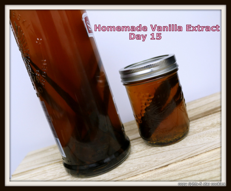 homemade vanilla extract from the best food blog 5starcookies day 15 update