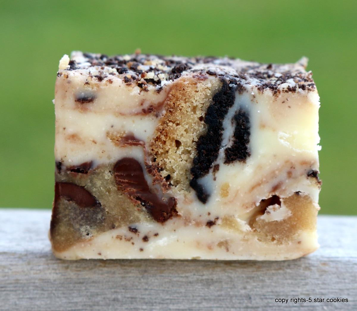 Chocolate Cookies Fudge from the best food blog 5starcookies Enjoy