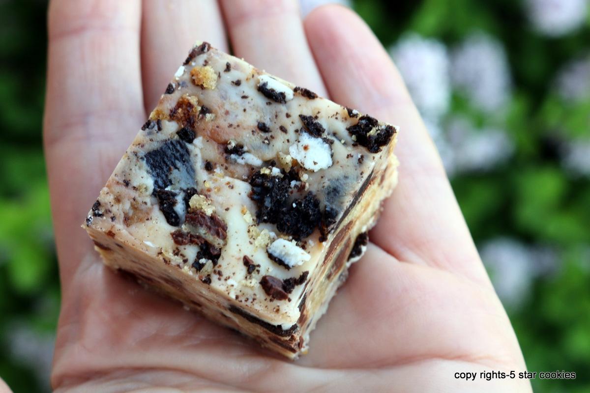 Chocolate Cookies Fudge from the best food blog 5starcookies and Cookie