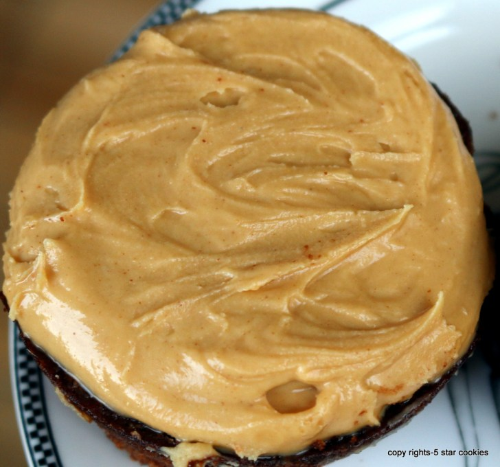 Peanut Butter Brownies from the best food blog 5starcookies -Peanut Butter Layer