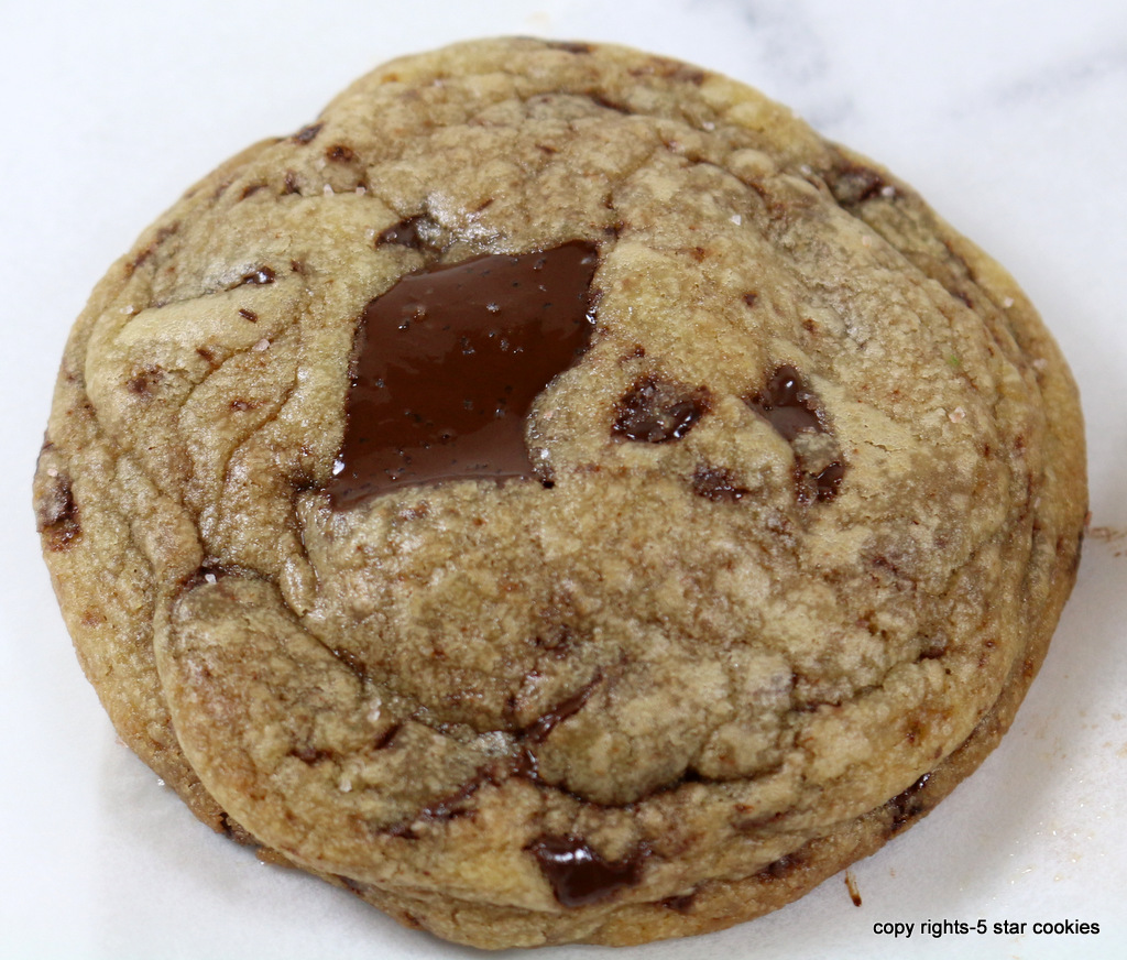 5star chocolate chip cookies from the best food blog 5starcookies