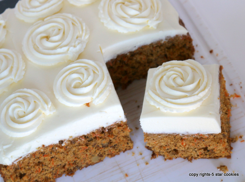 Carrot Cake from the best food blog 5starcookies -Enjoy your carrot cake