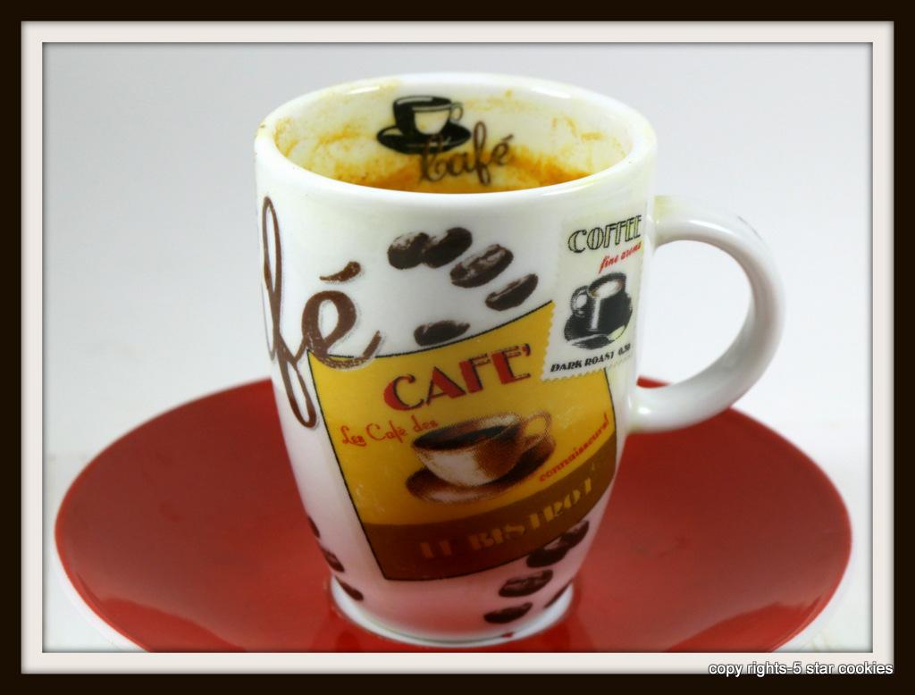 Turmeric espresso from 5starcookies