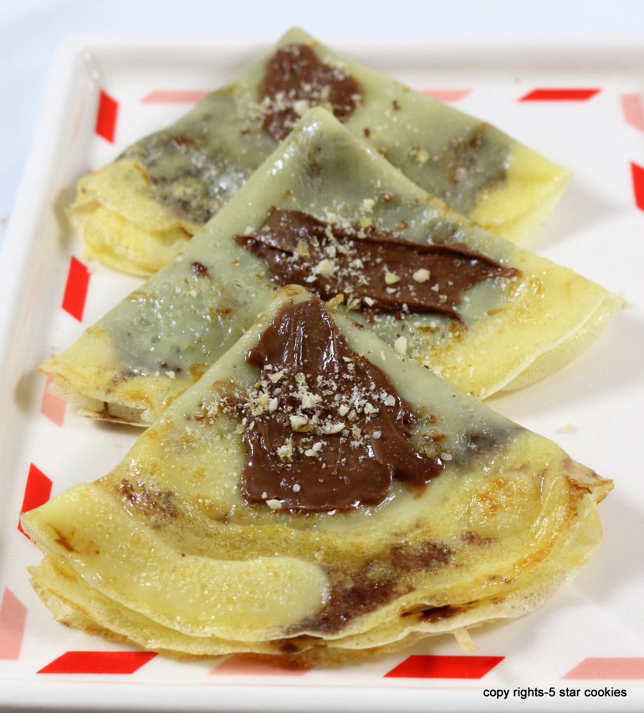 crepes from the best food blog 5starcookies-your French mission statement