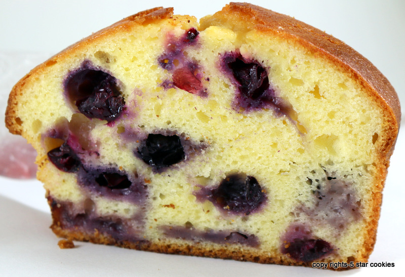 Blueberry Yogurt Loaf from the best food blog 5starcookies-your breakfast,lunch or dinner