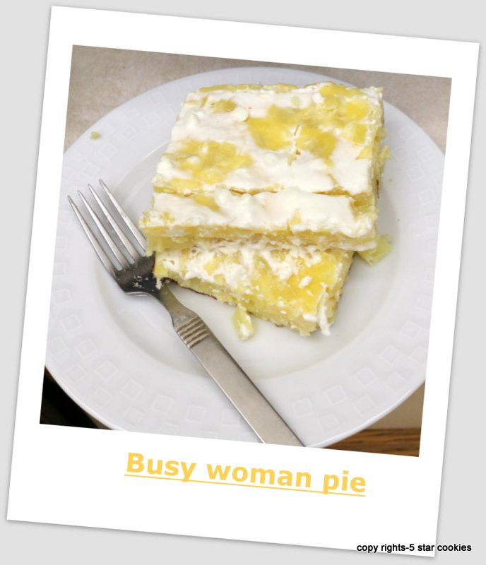 Busy woman potato pie from the best food blog 5starcookies-cut,enjoy and share