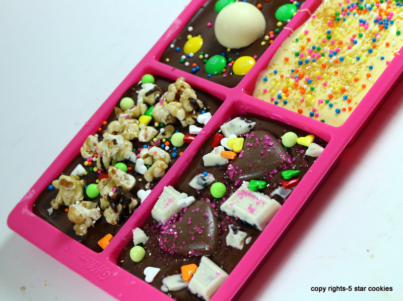 Valentine Love Chocolate from the best food blog 5starcookies -Chocolate in mold