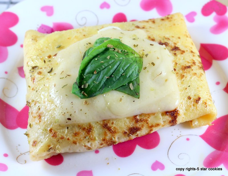Baked Cheese Protein Crepes from the best 5starcookies -enjoy