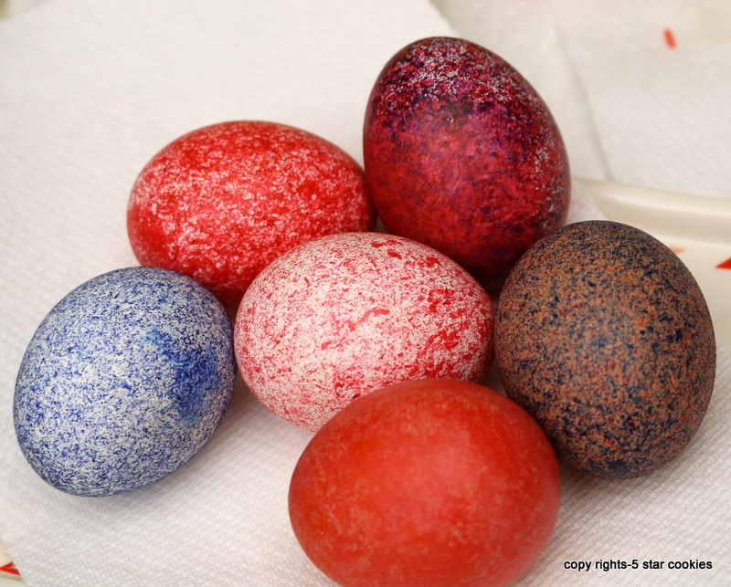 Easter from the best food blog 5starcookies-dye Easter eggs with rice