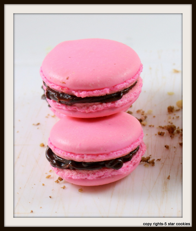 the best pink macarons from the best food blog 5starcookies