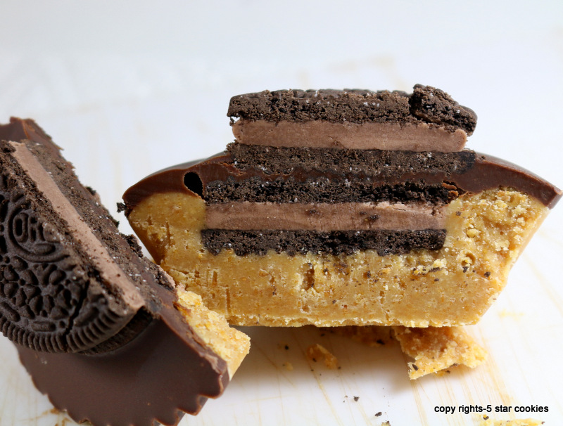 Oreo Peanut Butter Cup from the best food blog 5starcookies-enjoy and share