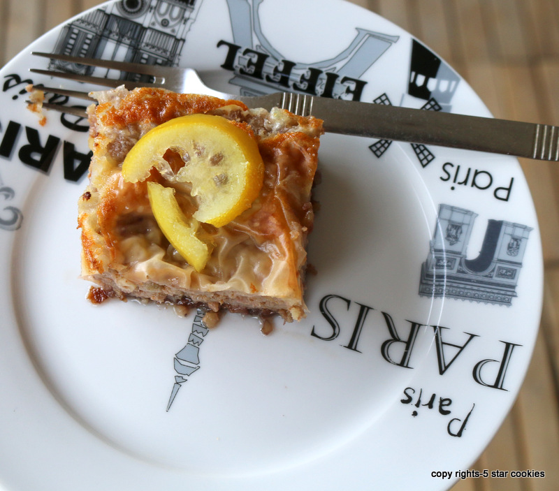 baklava from best food blog 5starcookies