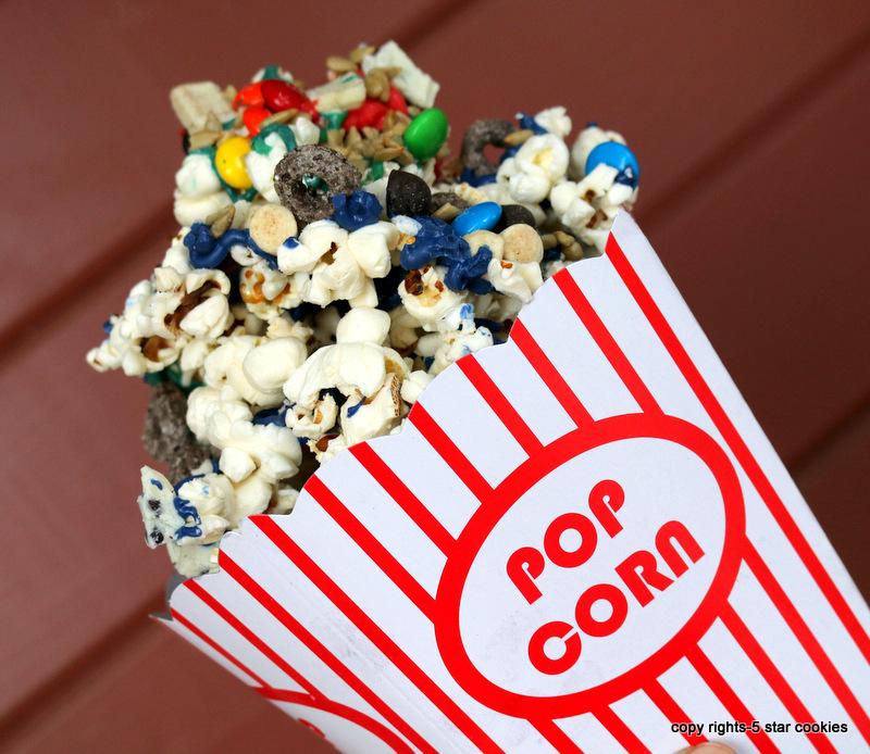 5 star popcorn from the best food blog 5starcookies-serve fairy tale popcorn